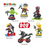 BOB Mini Blocks Marvel Super hero series 9525-9530