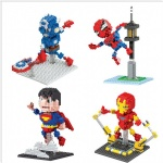 BOB Mini Blocks Marvel Super hero series 9521-9524