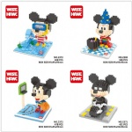Wise hawk Mini Blocks Disney Mickey Mouse Series 2369-2373