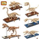 LOZ Mini Blocks dinosaur Fossil series 9023-9028