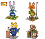LOZ Diamond blocks Zootopia 9722-9725