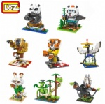 LOZ Mini Blocks Kung fu Panda 9712-9718