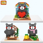 LOZ Diamond Blocks Kumamon 9841-9843