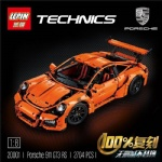lepin Factory Building blocks Porsche 911 20001