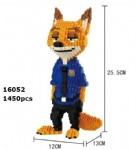 Balody Zootopia Fox 16052