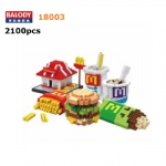 Balody Food Mcdonald 18003